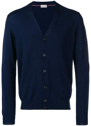 Moncler long-sleeve fitted cardigan