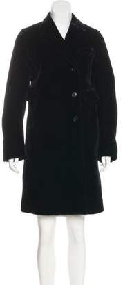 Marc by Marc Jacobs Knee-Length Velvet Coat
