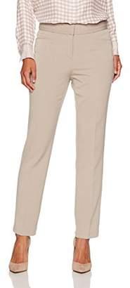 Rafaella Women's Petite Curvy Fit Gabardine Slim Leg Pant