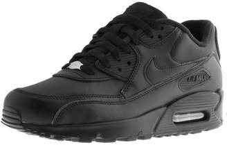 Nike 90 Leather Trainers Black