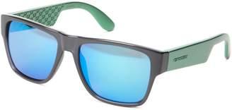 Carrera Ca5002s Rectangle Sunglasses,Transparent Gray & Multi Zan
