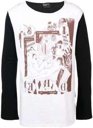 Enfants Riches Deprimes printed long-sleeve T-shirt