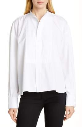 Polo Ralph Lauren Mandarin Collar Cotton Blouse
