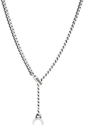 GOOD ART HLYWD Men's Sterling Silver Curb-Chain Necklace - Gold