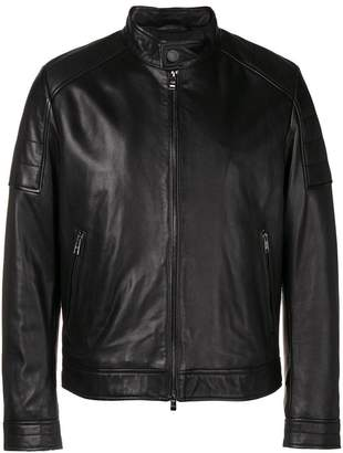 HUGO BOSS zipped-up jacket