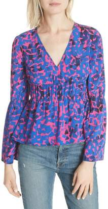 Tracy Reese RUCHED BLOUSE