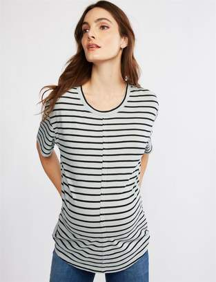 Splendid Striped Reverse Maternity T Shirt