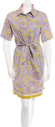 Robert Graham Paisley Button-Up Dress $85 thestylecure.com