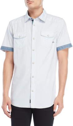 Buffalo David Bitton Stripe Short Sleeve Shirt