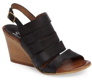 Women's Miz Mooz Kenmare Wedge Sandal $159.95 thestylecure.com
