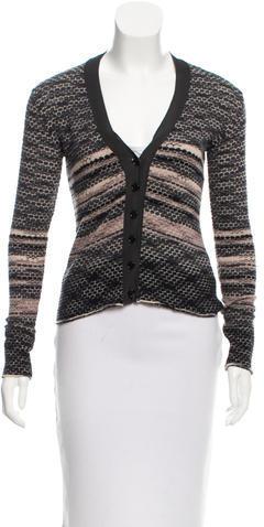 MissoniM Missoni Wool Patterned Cardigan