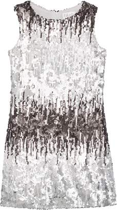 Blush by Us Angels Ombre Sequin Shift Dress