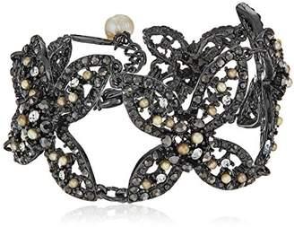 Badgley Mischka Floral X Bracelet