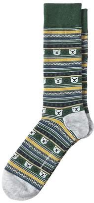 Banana Republic Bear Fair Isle Sock