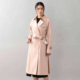 Sanyo (サンヨー) - サンヨー コート ウィメン [Spring Coat]ベンタイル比翼トレンチコート