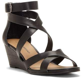 909e33a26c1 Lucky Brand Black Synthetic Upper Women s Sandals - ShopStyle