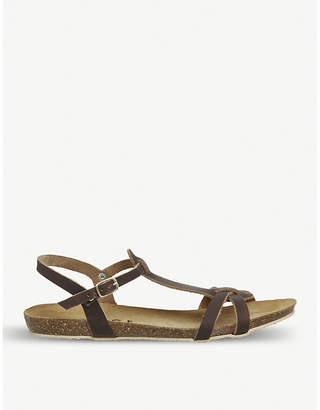 Office Sorbet T-bar leather sandals