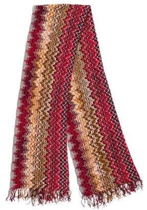 Missoni Chenille Knit Scarf