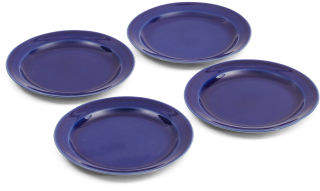 Made In Portugal Stoneware 4pk App Plates