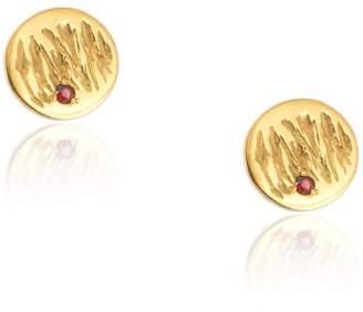 Ralph Lauren Kassandra Gordon - Jupiter Earrings Red