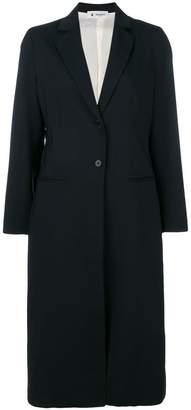 Barena long single-breasted coat
