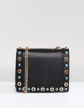 Pieces cross body bag