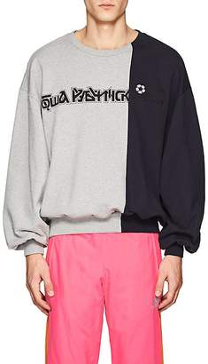 Gosha Rubchinskiy Men's Colorblocked Cotton Terry Sweatshirt