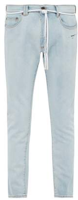 Off-White Off White Light Blue Skinny Jeans - Mens - Blue