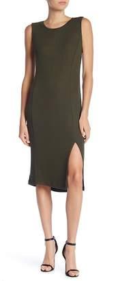 Catherine Malandrino Sleeveless Knit Midi Dress
