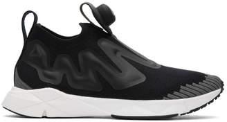 Reebok Classics Black Pump Supreme Ultraknit Sneakers