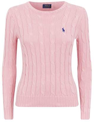 b8f17a63805 Ralph Lauren Cable Knit Sweater Womens - ShopStyle UK