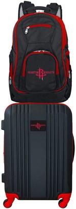 Houston Rockets Wheeled Carry-On Luggage & Backpack Set