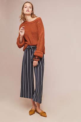 Greylin Ludlow Striped Wide-Leg Pants