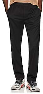 Helmut Lang Men's Elastic-Waist Wool Trousers - Black