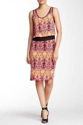 Kensie Printed Sleeveless Dress $78 thestylecure.com