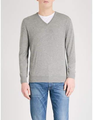 Ralph Lauren Purple Label V-neck cashmere jumper