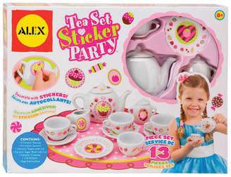 Alex Craft 13Pc Tea Set Party With Over 100 Stickers