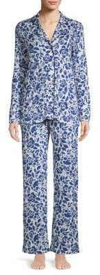 Cosabella Two-Piece Floral-Print Pajama Set