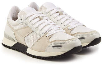 Ami Sneakers with Leather, Suede and Mesh