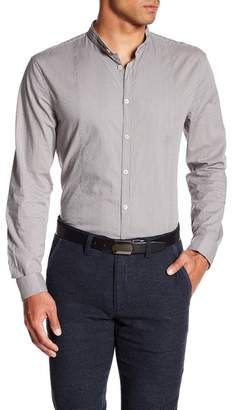 John Varvatos Collection Mandarin Collar Slim Fit Shirt