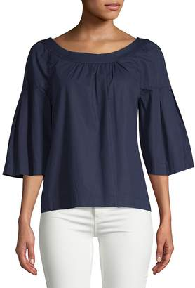 Trina Turk Women's Coit Boatneck Top