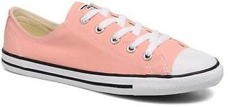 Converse Women's Dainty Canvas Ox W Low rise Trainers in Pink