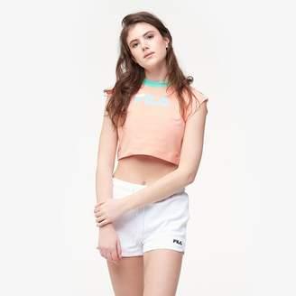 Fila Pia Crop T-Shirt - Women's