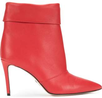 Paul Andrew fold down top ankle boots