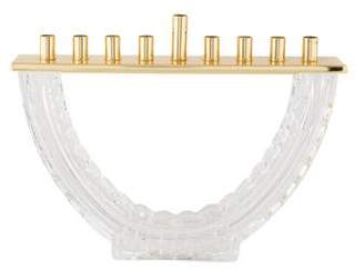 Waterford D-Form Crystal Menorah