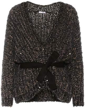 Brunello Cucinelli Sequinned cotton-blend sweater