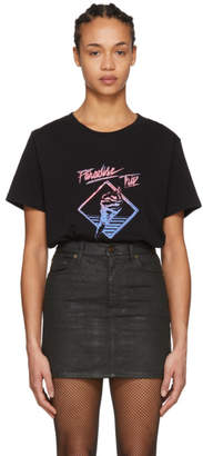 Saint Laurent Black Paradise Trip T-Shirt