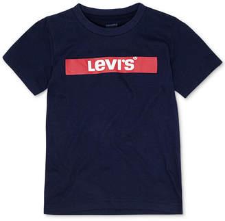 Levi's Little Boys Logo-Print Cotton T-Shirt