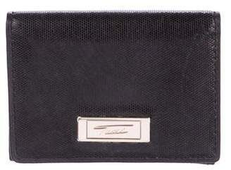 Tumi Leather Flap Wallet