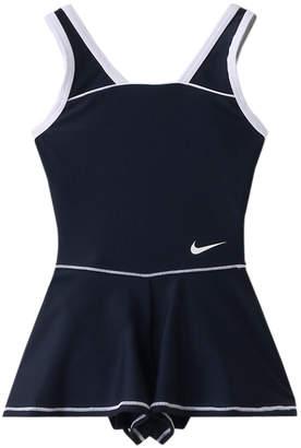 Nike (ナイキ) - ナイキ GIRLSキュロットワンピース(スイムウエア/水着)